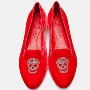 Alexander McQueen Shoes - 💥 ALEXANDER MCQUEEN Skull Slippers 37